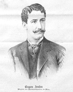 Eugen Jensen - A drawing of Jensen from 1898.