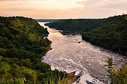 Ilta, Niilin joki, Uganda.jpg