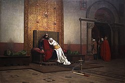 Jean-Paul Laurens: The Excommunication of Robert the Pious