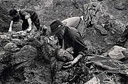 Exhumations in Srebrenica 1996