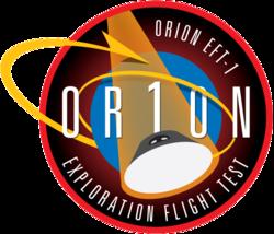 Missionsemblem EFT-1