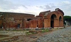 teatro romano di ostia wikipedia