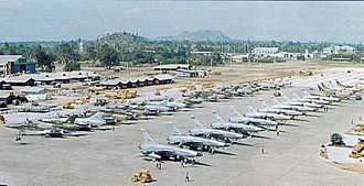 Takhli Royal Thai Air Force Base - Takhli Royal Thai Air Force Base in 1965