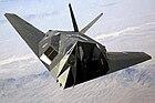 F-117 Nighthawk Front