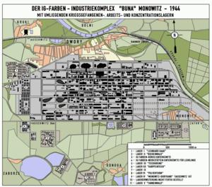 Primo Levi - Buna Werke, Monowitz and subcamps