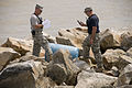 FEMA - 38394 - National Guard checks barrels that have washed on shore in Texas.jpg