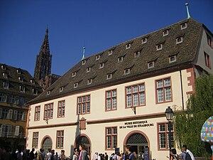 Musée historique de Strasbourg - Entrance of the museum