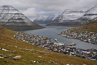 Klaksvík Town in Faroe Islands, Kingdom of Denmark