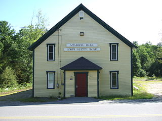 Starling Grange building in Maine, United States