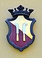 Feldkirchen Dietrichstein Schloss Dietrichstein Wappen N-Fassade 25042013 208.jpg