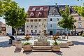 Feldkirchen Hauptplatz Nymphenbrunnen Gesamtanlage 28062016 2972.jpg