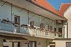 Feldkirchen Rauterplatz 1 Bürgerhaus Hotel Germann Hofseite Laubengang 04072016 3660.jpg