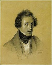 Felix Mendelssohn Bartholdy - Friedrich Wilhelm von Schadow 1834.jpg