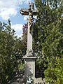 Felső Cemetery, Cross (1793), 2019 Heves.jpg