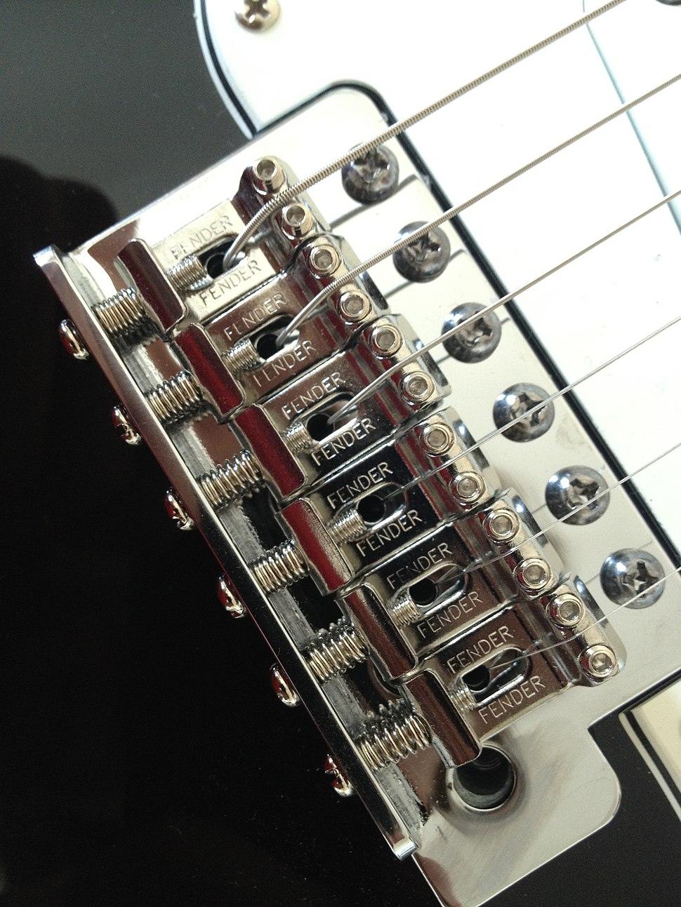 Fender Stratocaster tremolo bridge