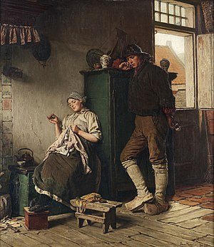 """Ferdinand Fagerlin - Image: Ferdinand Fagerlin, """"DEN FÖRTVIVLADE FRIAREN"""""""