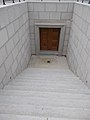 Festetics Mausoleum, crypt stairs, Keszthely, 2016 Hungary.jpg