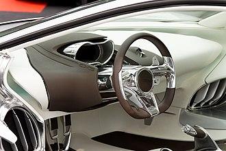 Jaguar C-X75 - Jaguar C-X75 concept rear view