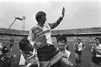 History of Feyenoord - Johan Cruyff with Feyenoord in 1984