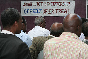 2007: Meeting of the Eritrean Liberation Front in the German exile, the main secessionist movement in Eritrea during the 1960s and 1970s