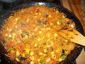 Valencian cuisine - Fideuà