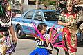 Fiestas Patrias Parade, South Park, Seattle, 2015 - 192 - 'Aztec' dancers (21589311645).jpg