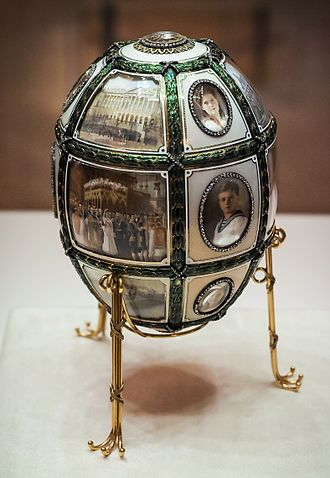Fifteenth Anniversary (Fabergé egg) - Image: Fifteenth Anniversary egg