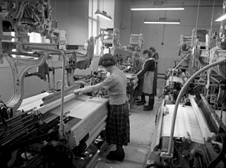 Textile manufacturing The industry which produces textiles