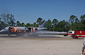 Firefighting with a dummy plane at Martin State Airport.jpg