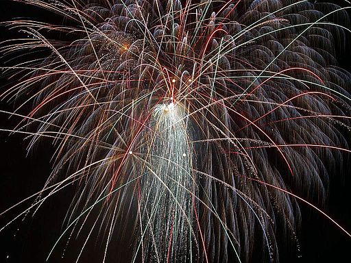 Fireworks public domain image
