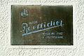 Firmenschild und Logo Wilh. Boetticher Mechanische Weberei Kleiderfabrik Weidendamm 6 Hannover-Nordstadt.jpg