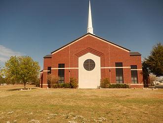 Crane, Texas - First Baptist Church at 101 E. 20th St. in Crane