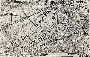 First Battle of Dernancourt
