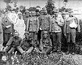 First World War, soldier, men, uniform, woman, nurse, wounded, musician Fortepan 5306.jpg