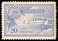 First air mail stamp Costa Rica 1926.jpg
