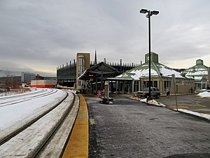 Fitchburg (MBTA station) - Fitchburg station in December 2013