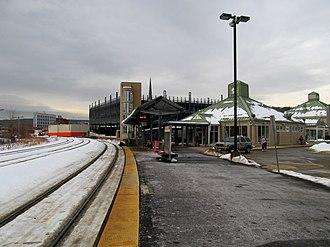 Fitchburg Intermodal Transportation Center - Fitchburg station in December 2013