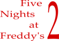 Five Nights at Freddy's 2 Logo.png