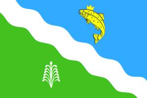Balakhtinsky District - Image: Flag of Balakhtinsky rayon (Krasnoyarsk krai)