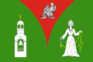 Orekhovo-Zuyevsky District - Image: Flag of Orekhovo Zuevo rayon (Moscow oblast)