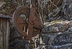 Flitsch oesterr-ungar Frontlinie Lastaufzug Umlenkrolle 10032015 0661.jpg