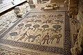 Floor mosaics inside the Memorial Church of Moses, Mount Nebo, Jordan.jpg