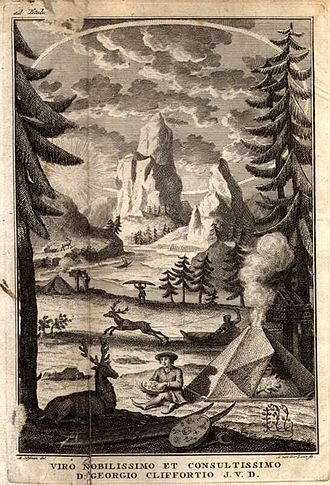 Flora Lapponica - Frontispiece of Flora Lapponica