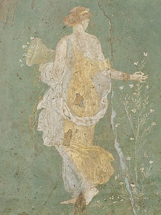 Flora (mythology) - Image: Flora MAN Napoli Inv 8834