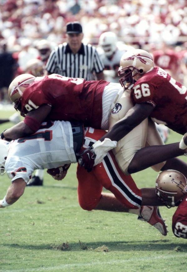 Florida State University versus the University of Miami at Doak Campbell Stadium- Tallahassee, Florida