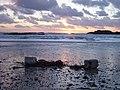 Flotsam at sunset - geograph.org.uk - 313775.jpg