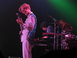 The Flower Kings - The Flower Kings performing in 2004 (Roine Stolt and Tomas Bodin pictured).