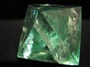 Fluorite octahedron