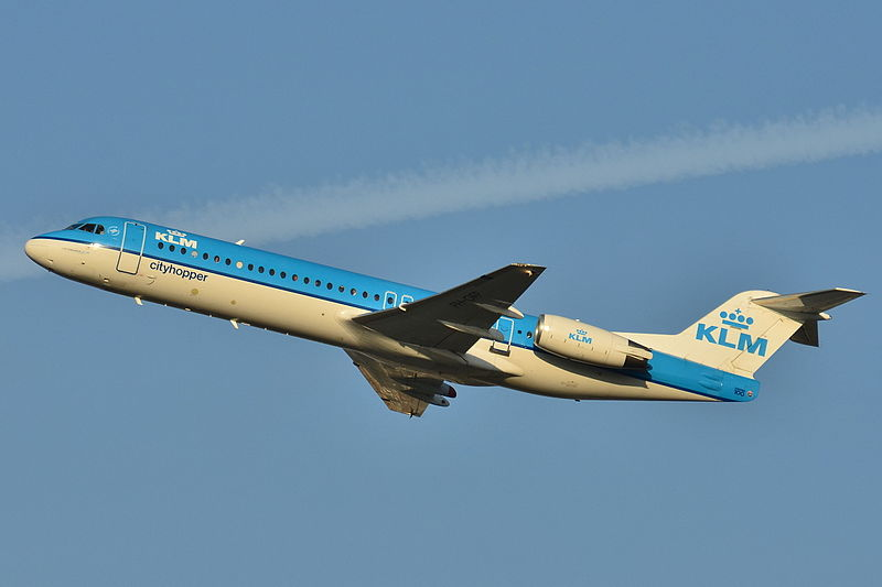 File:Fokker 100 (KLM) PH-OFP (10386601555).jpg