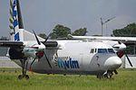 Fokker 50 'OO-VLQ' (ex VLM Airlines) (34758344370).jpg